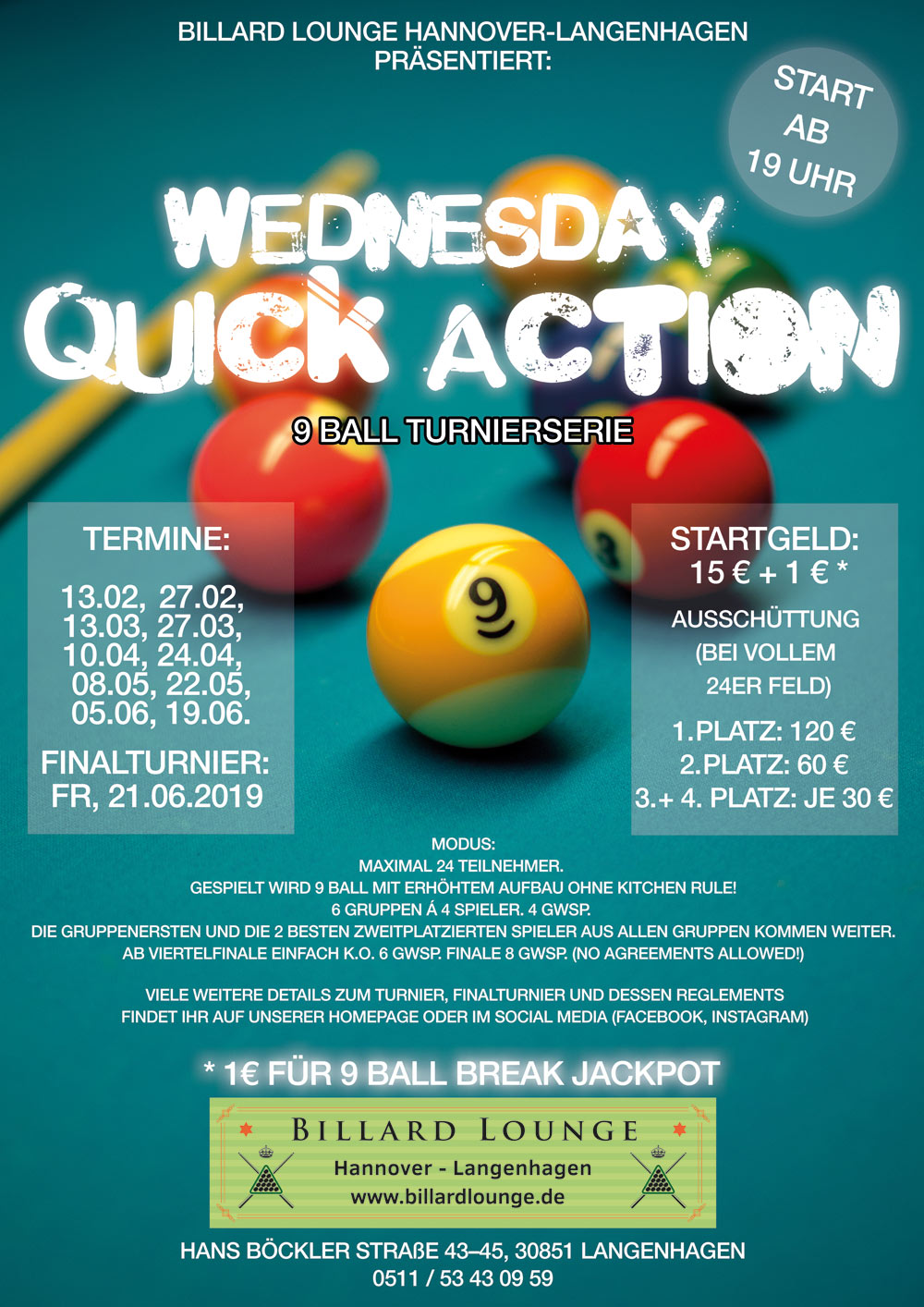 Wednesday Quick Action